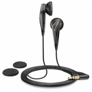 Sennheiser In Ear Earphone MX375 - Black Kabel