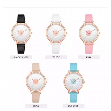 3D Flower Design Watch / Jam Tangan Fashion Wanita OLV 300D | Diameter 3,6cm