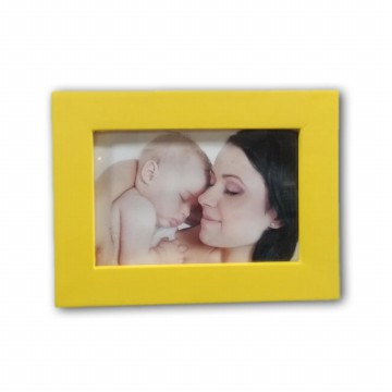 PHOTO FRAME E02 YELLOW 3R (9x13)