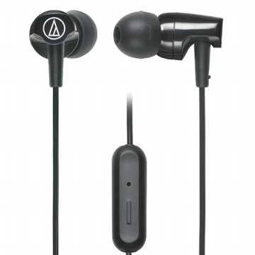 Audio-Technica ATH-CLR100is SonicFuel In-ear Headphones with In-line Mic & Control