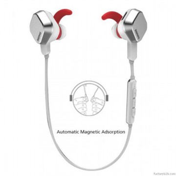 [esiafone #1] REMAX RM-S2 Magnet Motion Adsorption Wire Stereo Bluetooth Sport Headphone / Headset