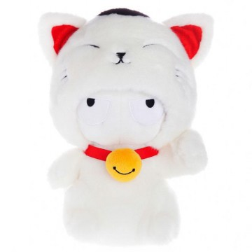 Xiaomi Boneka 25cm Plush Toy Boneka Xiaomi Mi Bunny Cat Version - White/Red