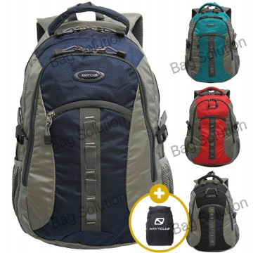Navy Club Tas Ransel Laptop 6262 [Gratis Bag Cover]