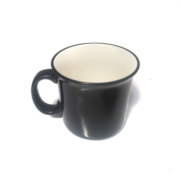 Altom Classic Vintage Coffee Mug / Cangkir Kopi 600 mL - Black