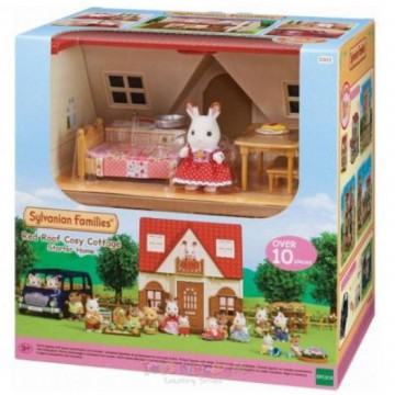 Koleksi Sylvanian Families Red Roof Cosy Cottage