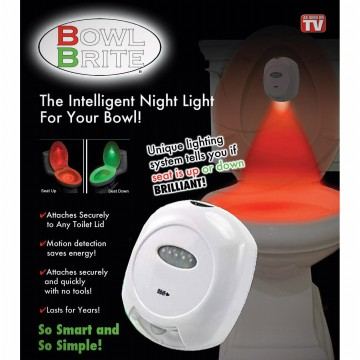 Smart Bowl Brite Sensor Toilet Lamp |  Lampu Toilet