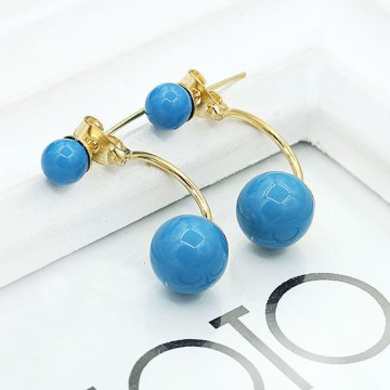 Beauty Twins Pearl Earring Earing Anting Korea