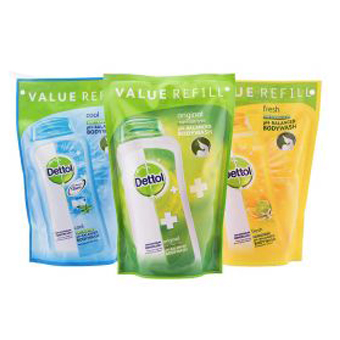 [8 Pilihan] Dettol Body Wash Refill - 450 mL