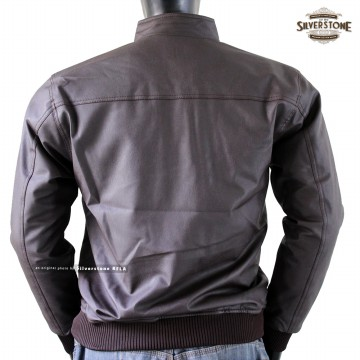 [BEST DEALS] Jaket Kulit Pria Al Ghazali, Varsity Series, DISCOUNT ALL ITEM [Silverstone RFLA]