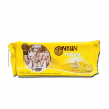 Nissin Wafer Banana 110gr