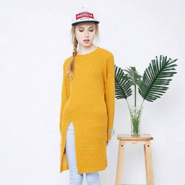 SLIT SWEATER 7 WARNA