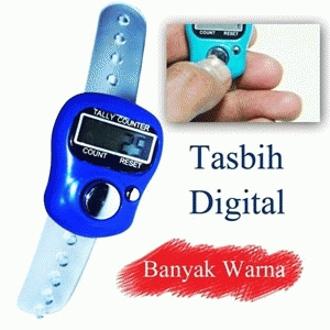 Digital Tally Tasbih Random Color