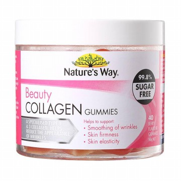 Nature's Way Beauty Collagen Gummies 40 Pastilles Exp Nov 2020