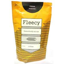 [ COFFEE / KOPI ] FLEECY SCRUB NEW PACK ORIGINAL