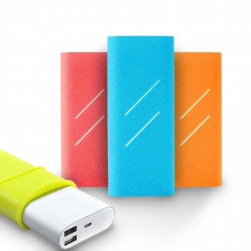 Xiaomi Mi Power Bank 16000mAh Silicone Protective Case(random color) [FREE ONGKIR JABODETABEK]