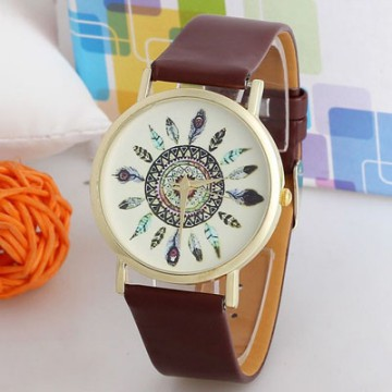 [FREE ONGKIR] Women's Vintage Feather Analog Wrist Watches - 5 Color