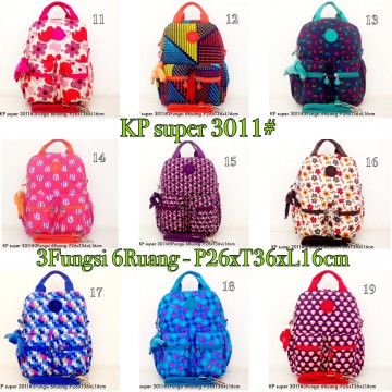 Tas Ransel Kipling Backpack Handbag Selempang  3in1 6 R 3011 - 5