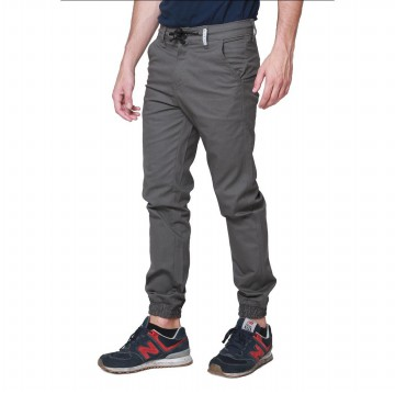OliveInch - CELANA JOGGER PANTS / 4 Colors / Size 28 - 38 / BAHAN COTTON TWILL STRETCH
