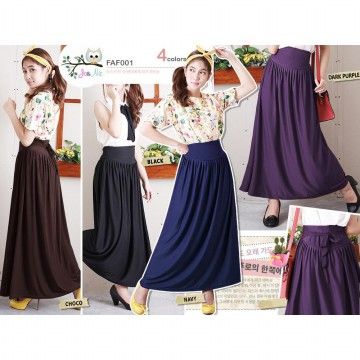 BEST SELLER KOREAN STYLE PANTS and MAXI SKIRTS [Hijab Style]