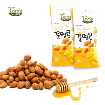 Honey Peanuts 40g * 2