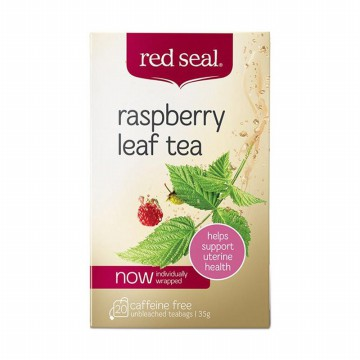 Red Seal Raspberry Leaf Tea 20 Sachets Exp Sept 2019