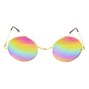 free ongkir Vintage Unisex lens Round Glasses Steampunk Sunglasses