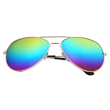 [FREE ONGKIR] Unisex Vintage Retro Aviator Mirror Lens Sunglasses Fashion Travel