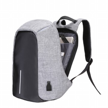 [FREE ONGKIR] 15inch Backpack Anti-maling/Backpack Laptop with USB Charge
