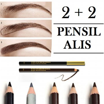 [4 PCS]  PENSIL ALIS / EYEBROW PENCIL