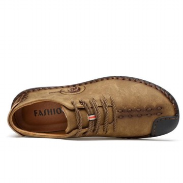 [FREE ONGKIR] Men's Fashionable Faux Leather Shoes Size 35-44