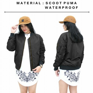 Jacket Bomber Jokowi - Jaket Bomber Wanita PREMIUM - Available 4 Colour