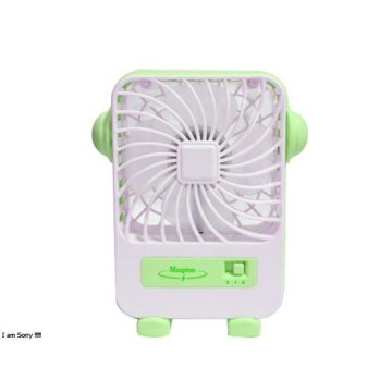 [Maspion] MF-03 Portable USB Mini Fan - Pink/Hijau/Biru