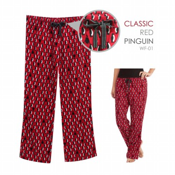 Branded Ladies Flannel Sleep Pants_100% Cotton Pajama Pants 7 Motif Comfortable Material