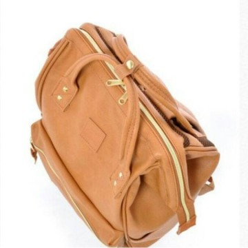 Anello Leather Large Pale Pink