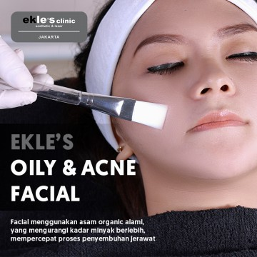 Ekles Clinic - Oily and Acne Facial