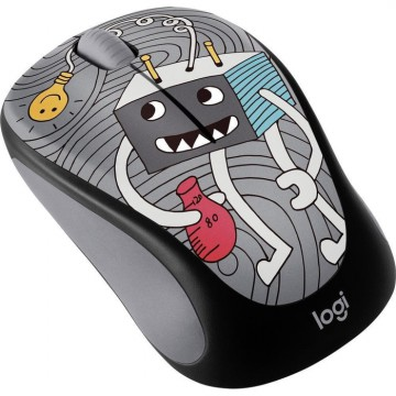 Logitech m238 Doodle Collection - LightBulb Wireless Mouse  910-005057