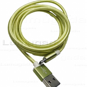 Ikawai Braided Fishnet Kabel Data & Charge Cable Micro USB