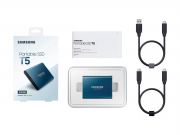 Promo - Samsung SSD T5 250GB Portable External SSD
