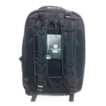 Polo Winstar Tas Ransel Backpack Expanding Premium For Laptop 17 Inch - Hitam