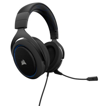 Corsair HS50 Stereo Gaming Headset - Blue