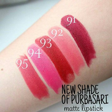 [15 Varian] Purbasari Lipstick Color Matte - all time best seller