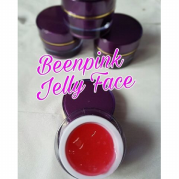 Jelly Face - Been Pink Jelly Pink Spotless White Glow UV Original