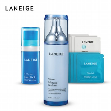 [LANEIGE] Balancing Emulsion Moisture   Free Gift Water Bank Trial Kit - 279020136