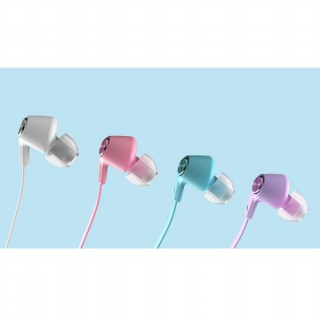 Xiaomi Mi Piston Huosai Earphone Colorful Edition (OEM) - Blue Kabel
