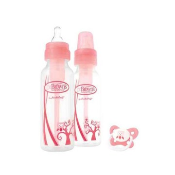 Botol susu / Dr Browns Set Pink Owl Standard Bottle Twin