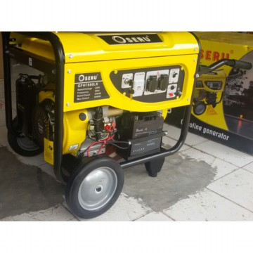 OSERU Genset 6000 Watt Electric Starter, GFH7880LX Generator Set