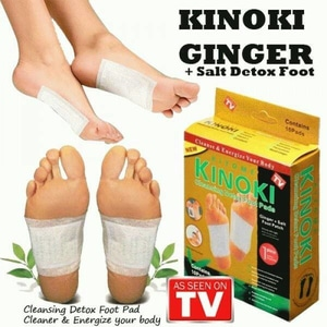 KINOKI GOLD GINGER AND SALT 100% Original