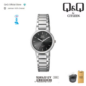 Q&Q QnQ QQ Original Jam Tangan Wanita Analog Formal- S283 S283J Water Resist