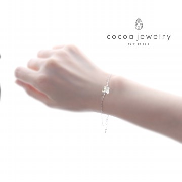 Korea Cocoa Jewelry Butterfly Small - Gelang Swarovski