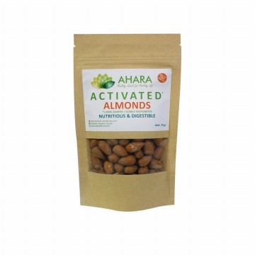 70gr Kacang Almond /Activated Almond / Roasted / Panggang/ Healthy Diet Snack